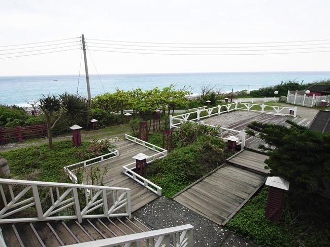 │遊。花蓮│原野牧場眺海咖啡館。傍海七星潭