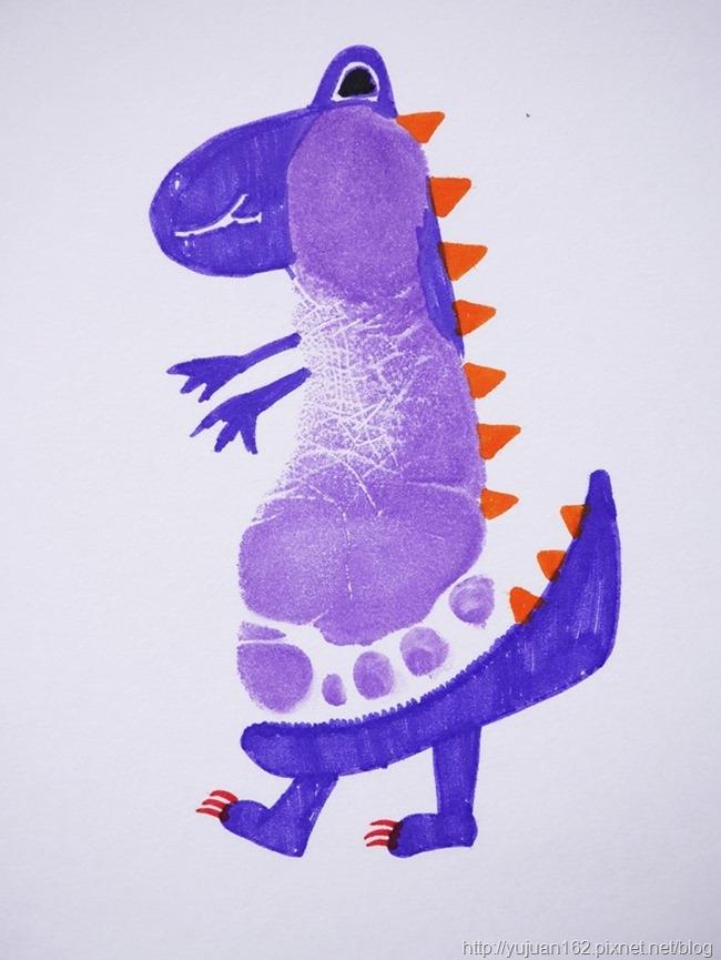 指印畫【恐龍】