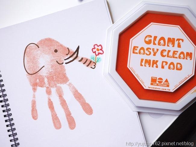指印畫【【大象】】