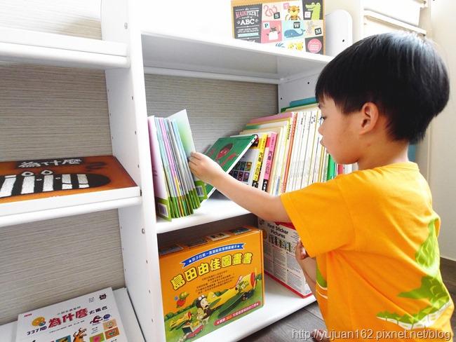 │兒童家具│書櫃無限加。愛兒館 我的第一座小書櫃+童書分享。歡樂小學堂給孩子一個喜歡閱讀的空間