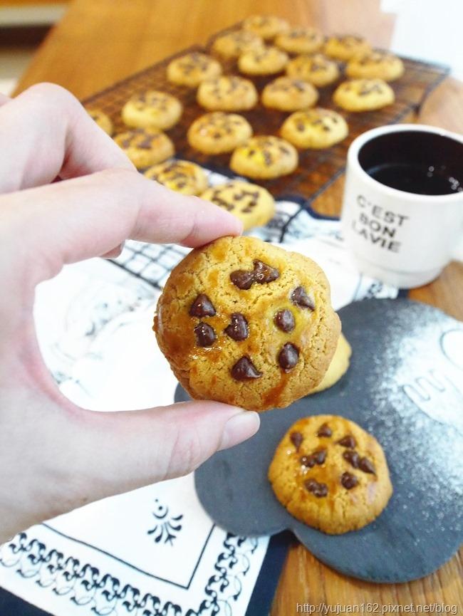 │手工餅乾食譜│最受歡迎~高纖巧克力奶酥餅乾