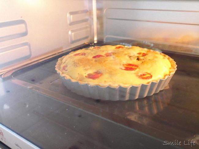 │點心食譜│法式蘑菇蕃茄鄉村鹹派+鹹派皮製作方式。點心diy pizza製作 親子diy 副食品