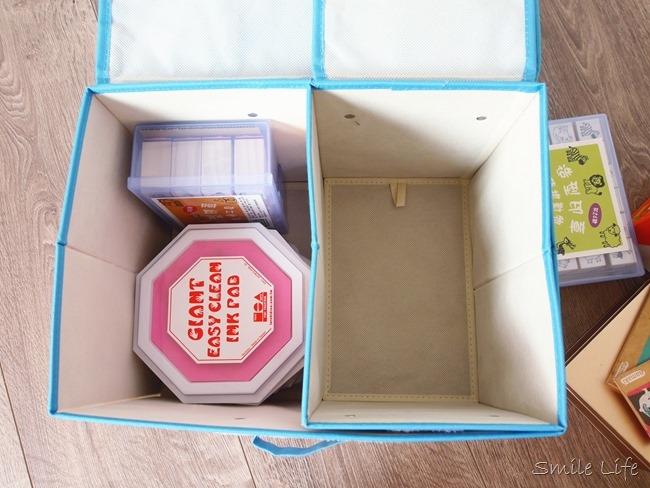 居家收納控發作。遊戲房、換季絕對不能少的收納置物箱 日本DECOLE BRICK BLOCK