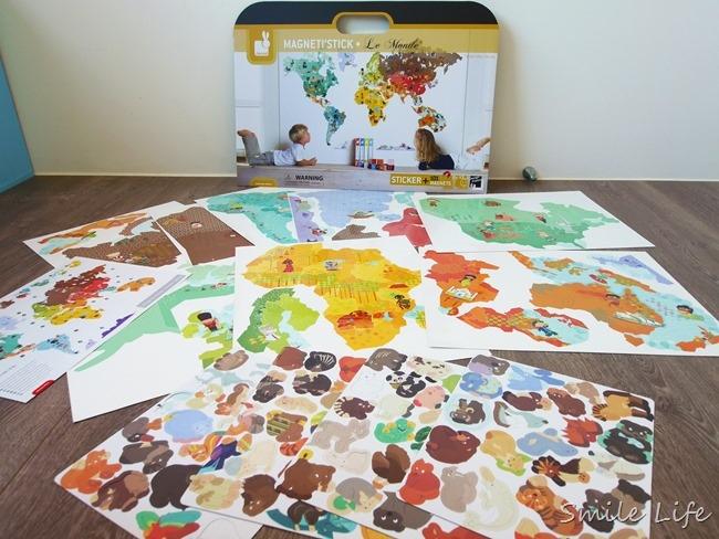 【玩具開團ing】法國Janod 磁鐵書/世界地圖磁性壁貼/娃娃屋/貓博士時鐘/瓢蟲記憶盤