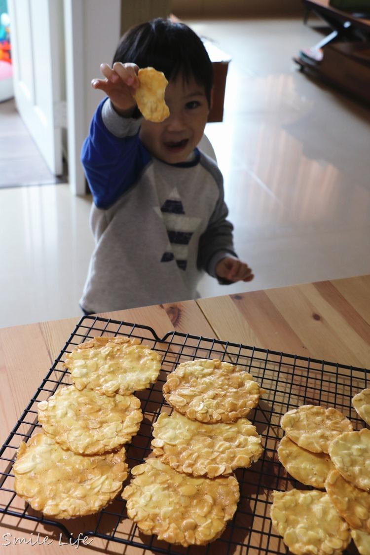 ▌食譜▌零技巧零失敗「杏仁瓦片」必學人氣甜點。如何烤得透薄有技巧!