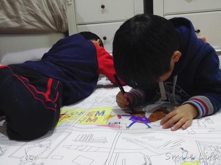 ▌育兒用品▌荷蘭Makii 兒童房佈置/巨型塗鴉展開孩子的紙上大冒險
