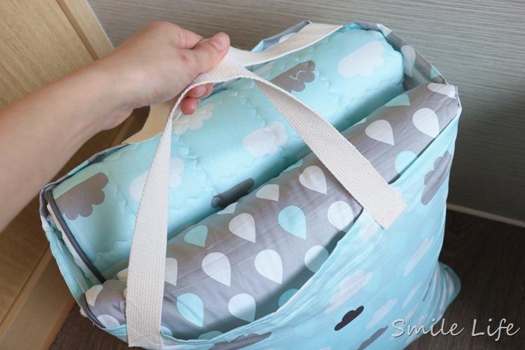 ▌韓國兒童寢具▌從baby一路睡到上幼稚園。三合一高質感多功能「韓國Wow手工純棉兒童攜帶床組/涼被組(夏季限定)」