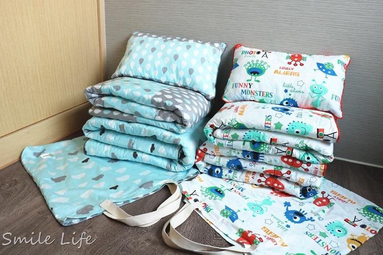 ▌韓國兒童寢具▌從小嬰孩一路睡到上幼稚園。高質感多功能「韓國Wow手工純棉兒童攜帶床組」