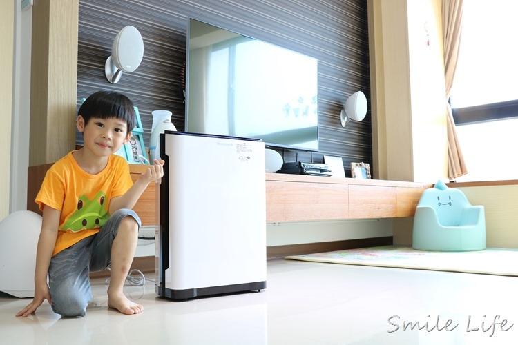▌家電▌最多醫生推薦!小敏兒的「新呼吸」Honeywell HPA-720WTW智慧淨化抗敏空氣清淨機