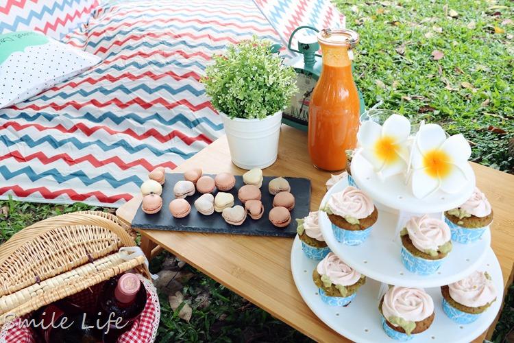 ▌草地好食光▌好神媽媽。少女心浮誇野餐趴-PART1