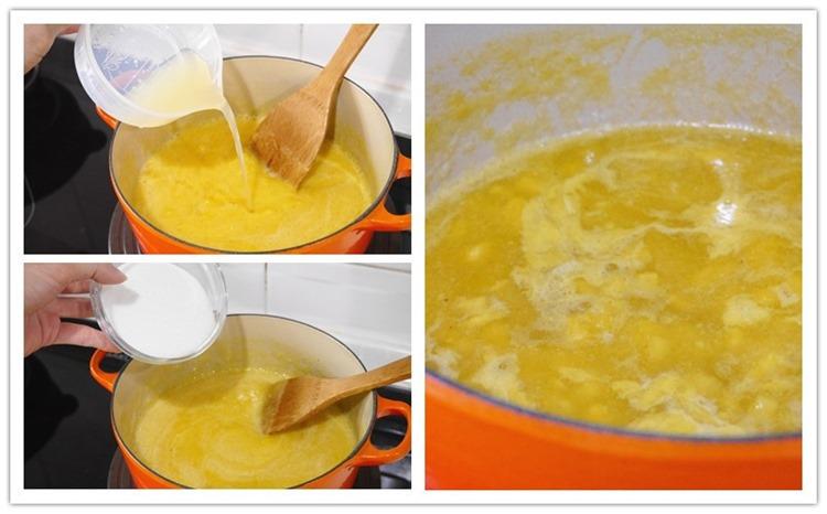 ▌食譜▌媽媽好神美顏秘笈。DIY自製美顏安心果醬「白木耳鳳梨果醬」