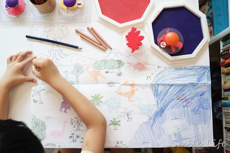 ▌玩創意▌愛兒館2017熱銷新品-易握印章。指印畫。情境畫作超有趣!