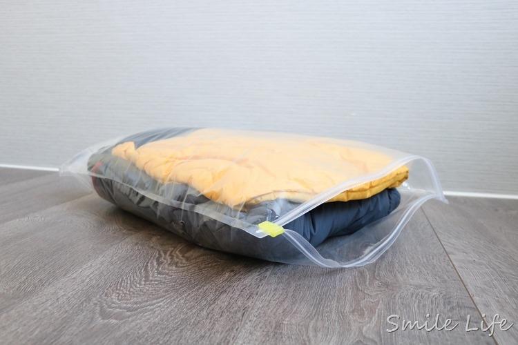 ▌地表最強收納技巧▌收納不求人。換季收納、出國旅行神助手「日本神奇手捲式真空壓縮袋」