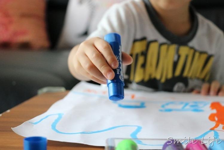 ▌12/11開團預告▌英國Little Brian可水洗無毒兒童水彩棒。多種創意變化效果大膽玩色。兒童彩繪豐富想像力