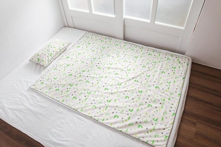 ▌團購▌2018春季新品首團。韓國Wow手工純棉三合一兒童睡袋組+涼被組(小孩+大人款)皆可加被胎