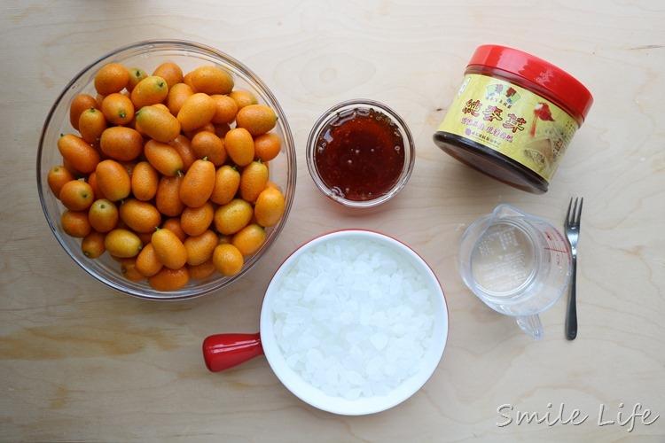 ▌食譜▌過年開運點心。潤喉黃金蜜金棗DIY