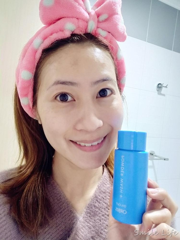 素顏大作戰!「ORBIS雙重酵素潔顏粉」去你的粉刺、毛孔