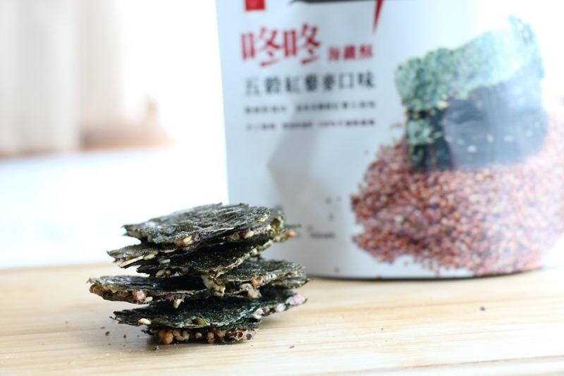 ▌超激推網購美食▌低卡高纖健康涮嘴零食。咚咚海纖酥+夢幻保加利亞蜂蜜玫瑰茶