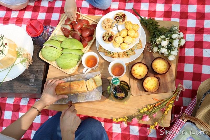 ▌親子野餐▌四月雪流蘇花下風格野餐日。桃園石管局大草坪