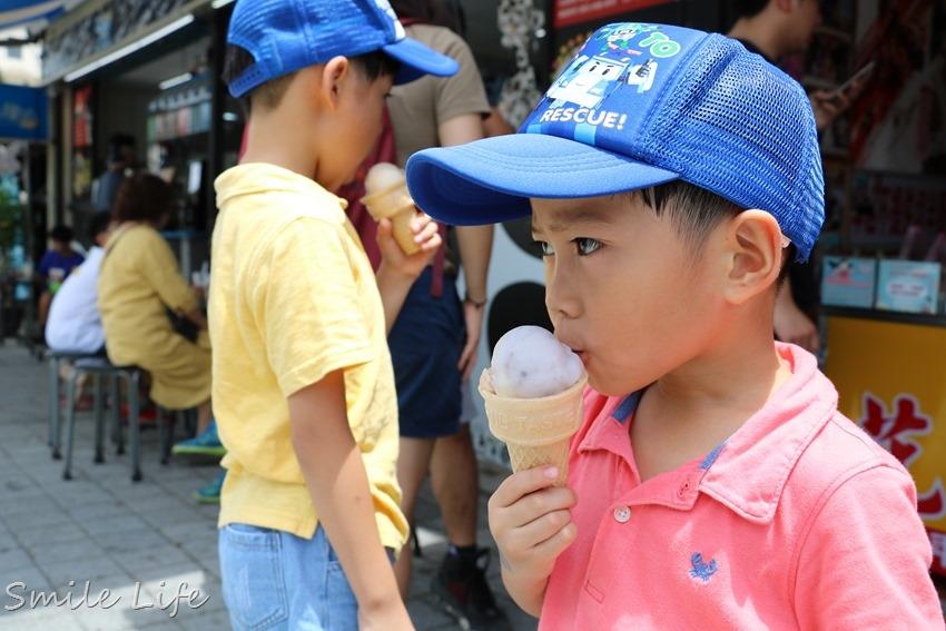 ▌宜蘭美食▌夏日消暑永遠吃不膩的古早味「吳記花生捲冰淇淋」