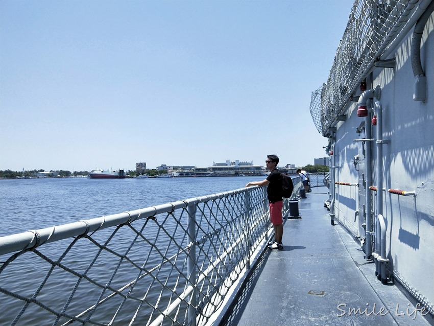 ▌台南景點▌IG打卡熱點。與小鮮肉定情碼頭「安平德陽艦軍艦博物館」