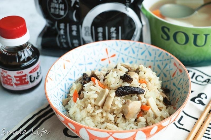 ▌食譜▌日式雞肉野菇炊飯。維媽副食品