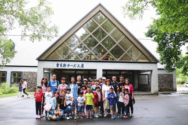 ▌北海道親子旅行5天4夜▌ Day3。富良野起司工房-手作Ice Milk義式冰淇淋DIY