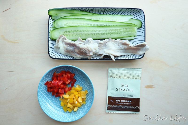 ▌食譜▌最簡單的料理。最新鮮的最初風味「芝初胡麻拌麵醬」