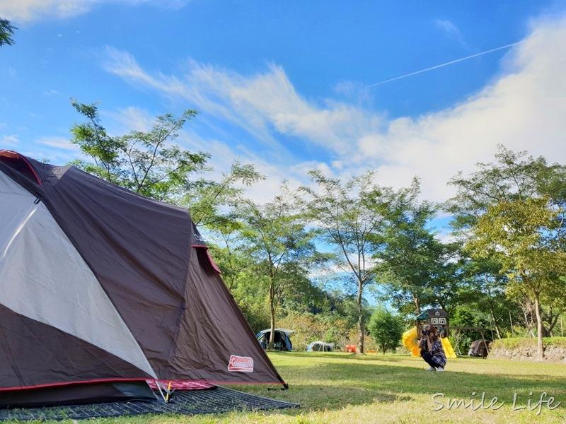 ▌森林人第05露▌冬露泡暖湯「威尼斯溫泉露營地」離內灣老街走路只要10分鐘 新竹營地