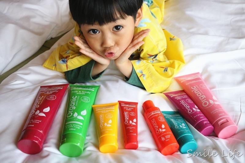 ▌育兒▌有機嬰幼肌膚呵護。澳洲嬰樂香 Little Innoscents 木瓜霜、按摩膏、修護舒緩霜、保濕潤膚乳液、羊奶皂‥讓寶寶敏感肌更健康
