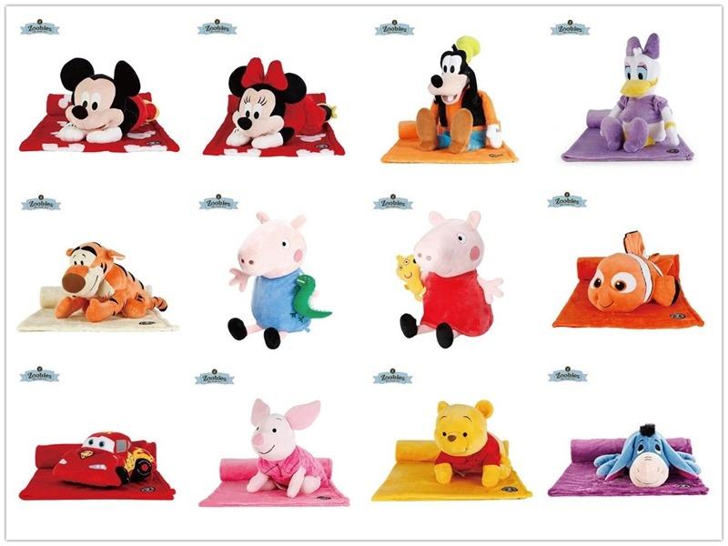 ▌育兒團購▌美國Zoobies玩偶毯/創意壁貼玩具/英國Cheeky Chompers咬咬兜、咬咬巾、袋鼠搓搓被