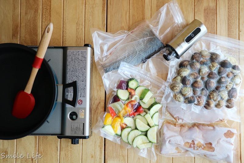 真空保鮮推薦▌韓國OZEN 首創推出結合「真空儲物罐」和「真空袋」 二合一 「手持式真空食物保鮮機」一機兩用,家庭必備真空好幫手