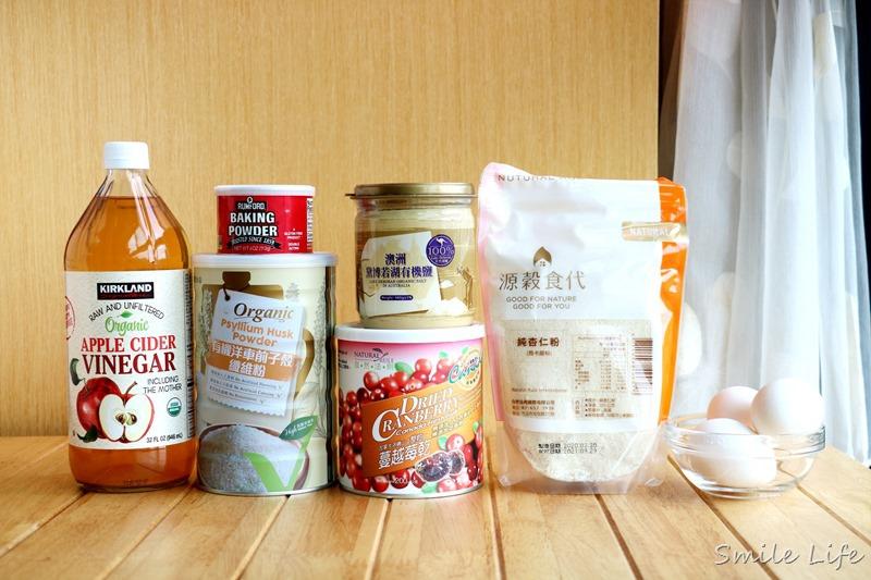 ▌食譜▌無糖無麩質。超簡單又快速,免發酵、免揉「生酮餐包」減肥餐