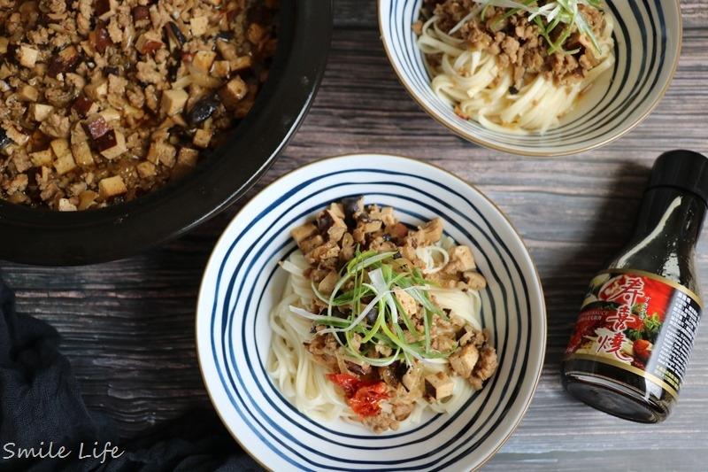 食譜▌免滷包、免加糖。一鍋「香菇肉燥」讓飯鍋見底。好吃祕訣就是加了這一瓶「穀盛壽喜燒醬」