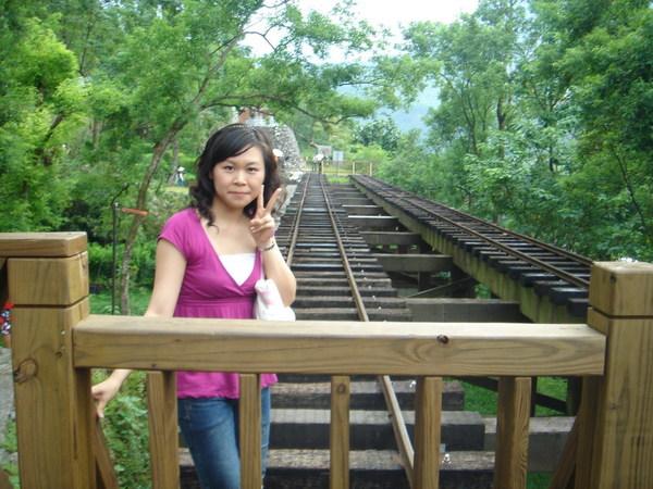 林田山的舊鐵軌