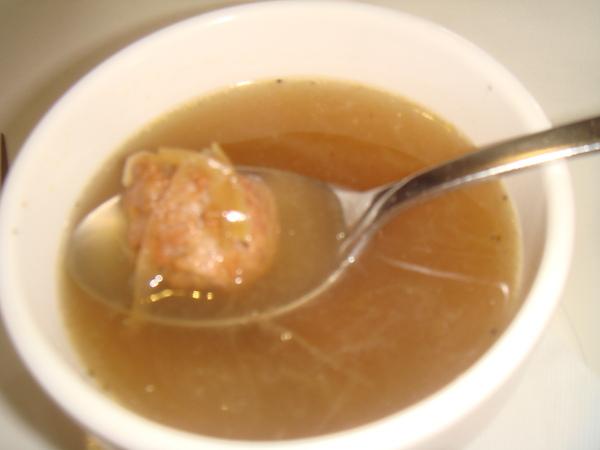 牛肉丸清湯
