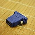 DVI-D 轉 HDMI(HDMI 端)