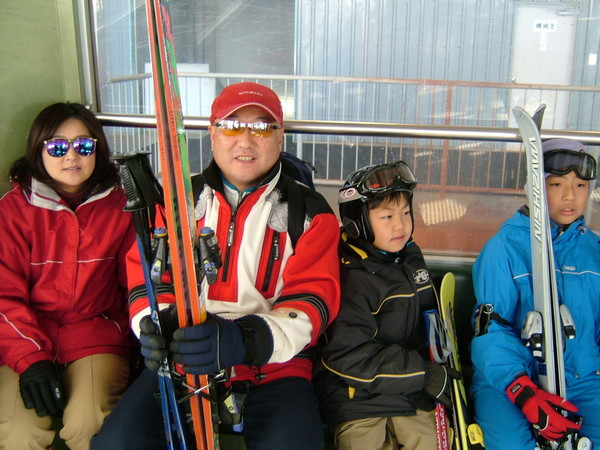 2006年新年湯沢滑雪渡假