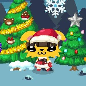 聖誕風餅妹