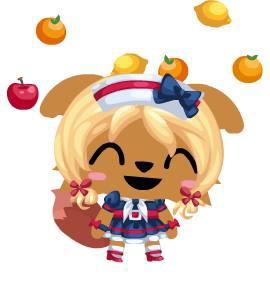 拋水果的餅妹