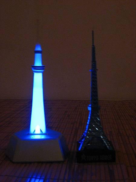 點燈(藍)