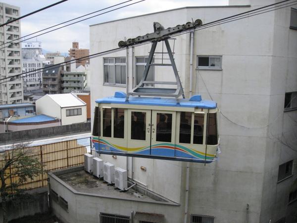 松山城纜車2