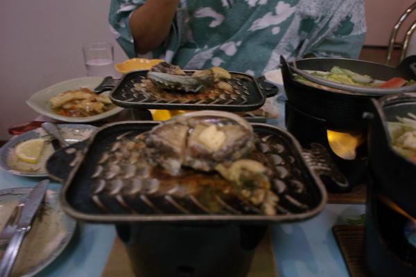 溫泉旅館晚餐