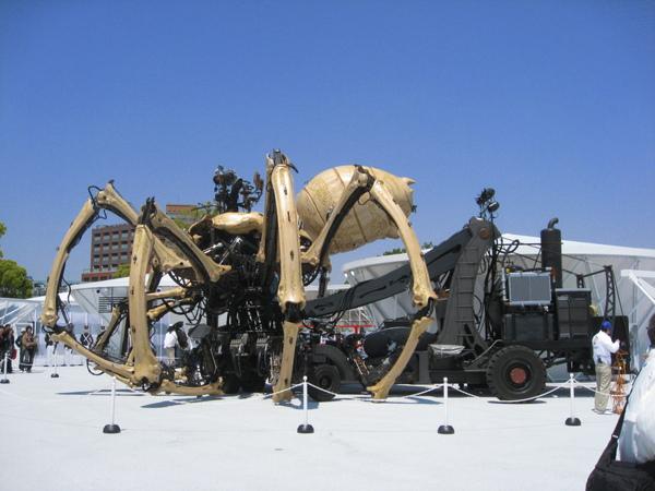 機器蜘蛛全構造