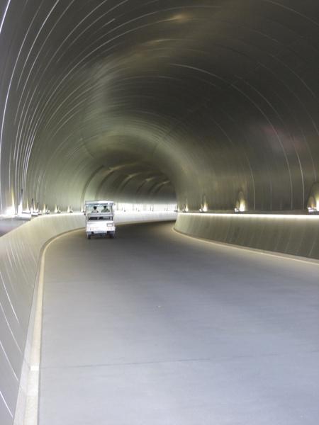 隧道內部照