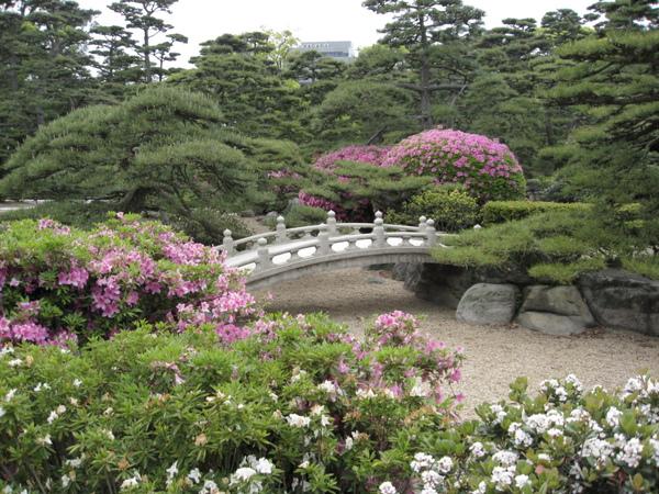 高松城庭院