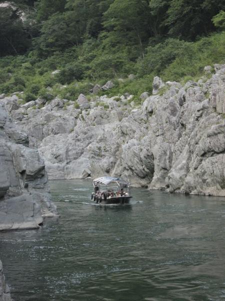 大步危峽谷遊覽船