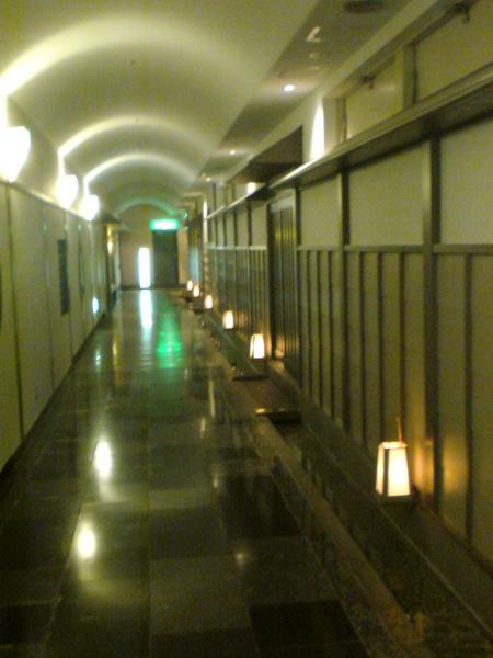 和式風格走廊