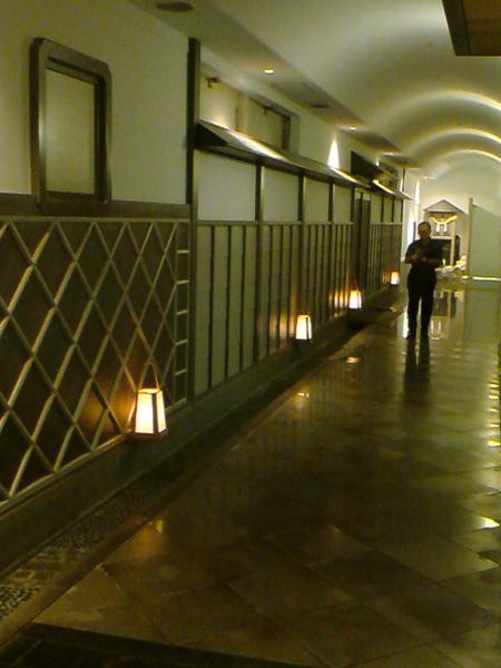 道後館內日式走廊