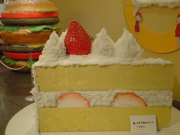 巨大草莓蛋糕
